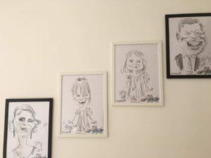 Ana Maria Popa, despre caricaturistul Adrian Bighei, Marturie Nunta