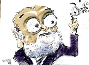 Caricatura Dinu Patriciu