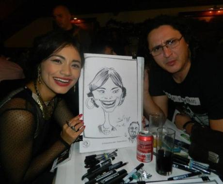 Caricatura Aylin