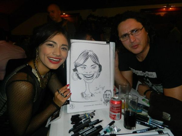 Caricatura - portret Aylin