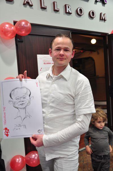 Caricaturi cadou de Valentine's Day, Eliana Mall, Brasov