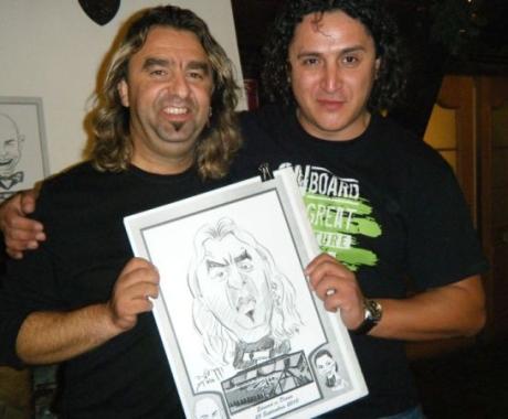Caricatura Coco de la Compact
