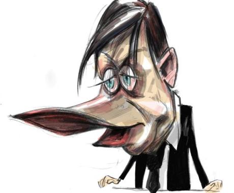 Caricatura Crin Antonescu