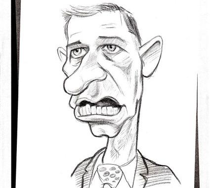 Caricatura Mircea Geoana