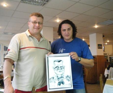 Caricatura Nicu Vlad