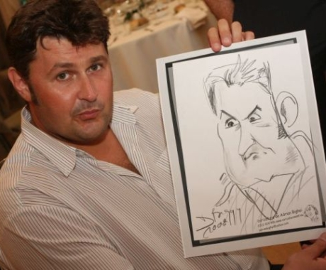 Caricatura Toni Tecuceanu