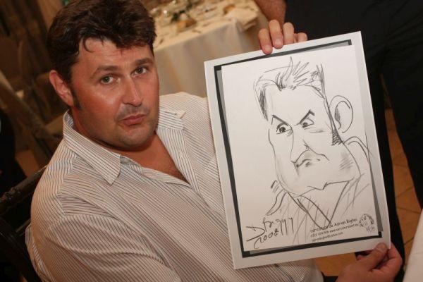 Caricatura lui Toni Tecuceanu