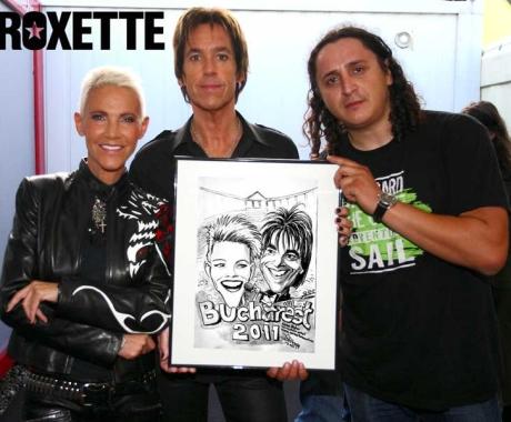 Caricatura Roxette