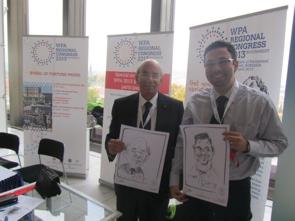 Caricaturi WPA Regional Congress -Praga