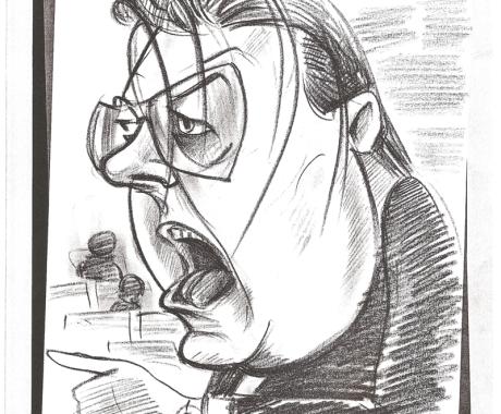 Caricatura Vadim Tudor