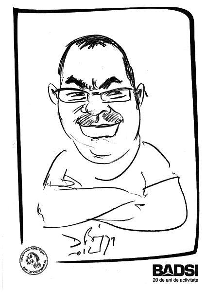 Caricatura cadou ,BADSI