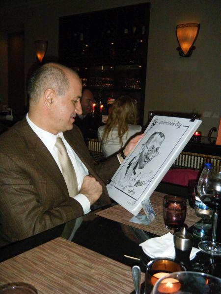 Caricatura George Copos