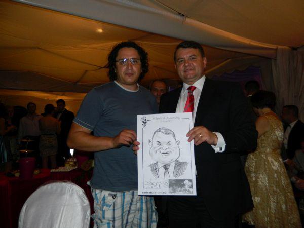 Caricaturi marturii - cadou pentru nunta, Buzau