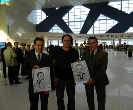 Inaugurarea noului terminal plecari al aeroportului Henri Coanda