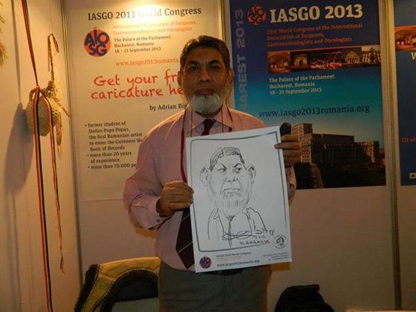Caricaturi IASGO World Congress, Bangkok