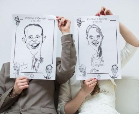 Caricaturi marturii la nunta