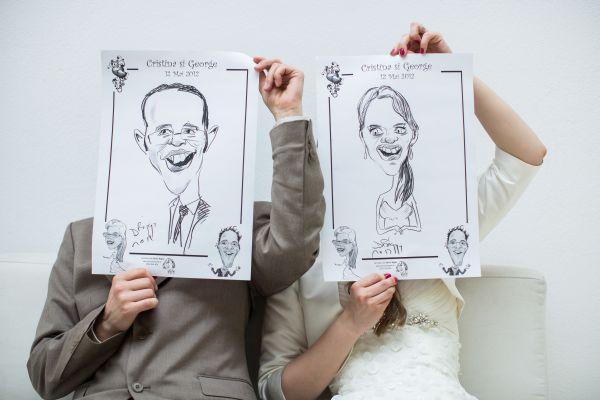 Caricaturi nunta