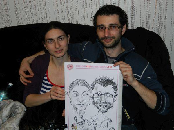 Caricaturi la Targul de nunti