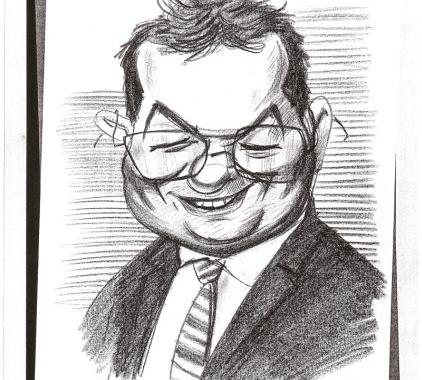 Caricatura Emil Boc