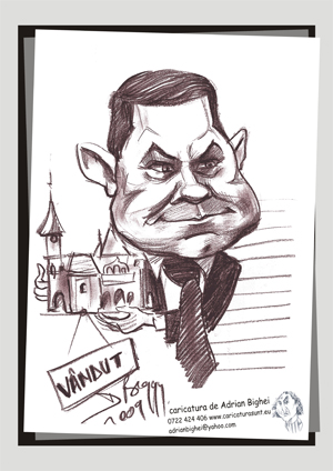 Caricatura Constantin Boscodeala