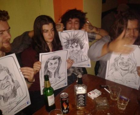 Caricaturi trupa Bosquito