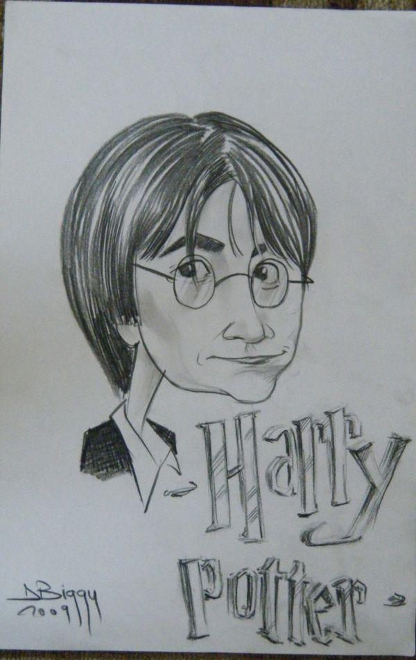 Caricatura Harry Potter