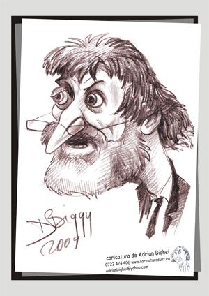 Caricatura Ion Vasile