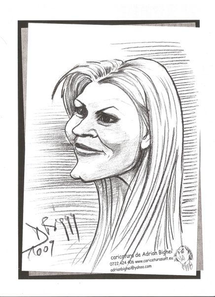 Caricatura Elena Udrea