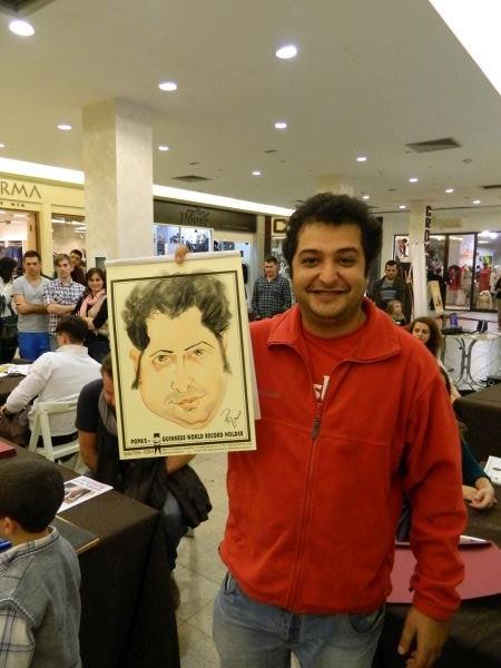 Caricatura Iulius Mall Iasi