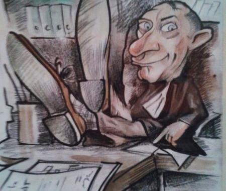 Caricatura personalizata cu tematica