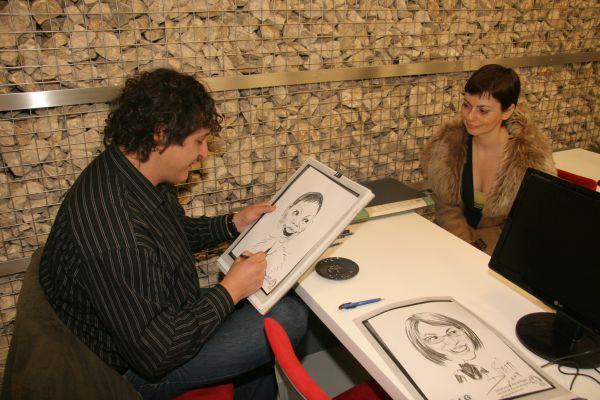 Caricaturile - un entertainement perfect pentru evenimente