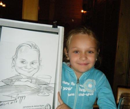 Caricaturi – portrete  in tabara