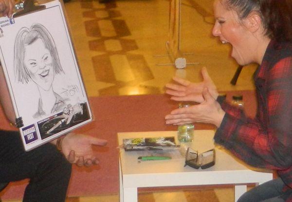 Caricaturi Mariage Fest , Bucuresti