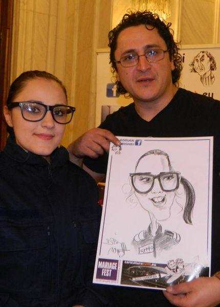 Caricaturi Mariage Fest