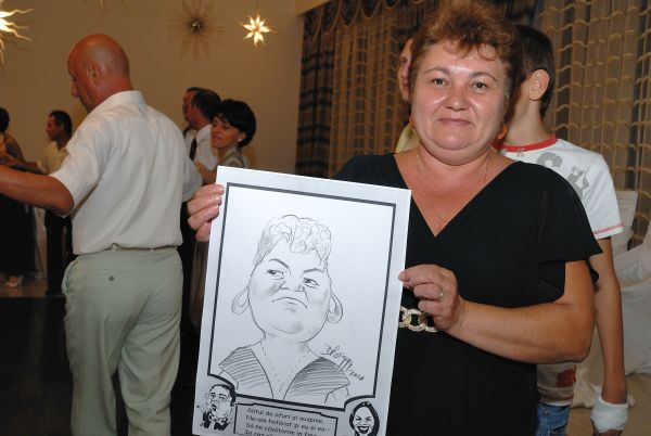 Caricaturi - marturii de nunta, Restaurant Cupola, Ploiesti