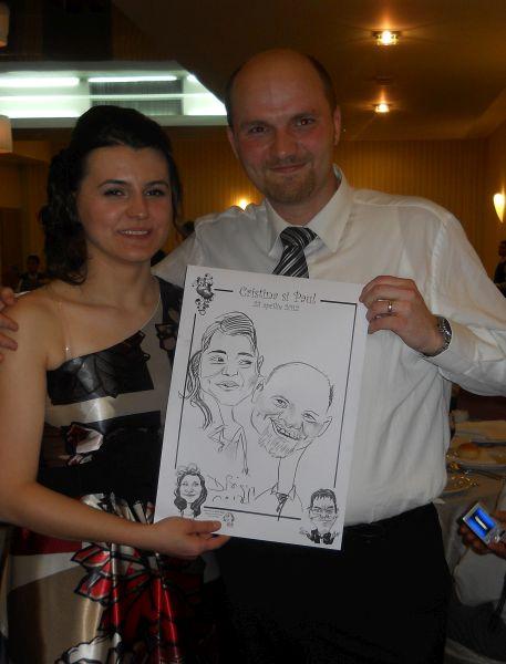 Caricaturi marturii nunta