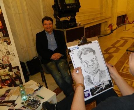 Caricatura sketch Andrei Duban