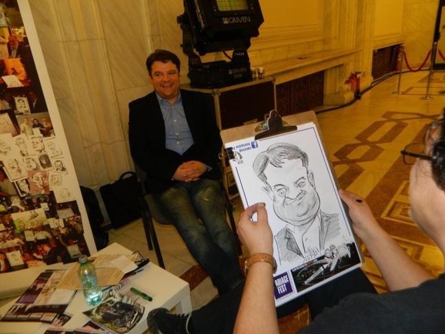 Caricatura actorului Andrei Duban
