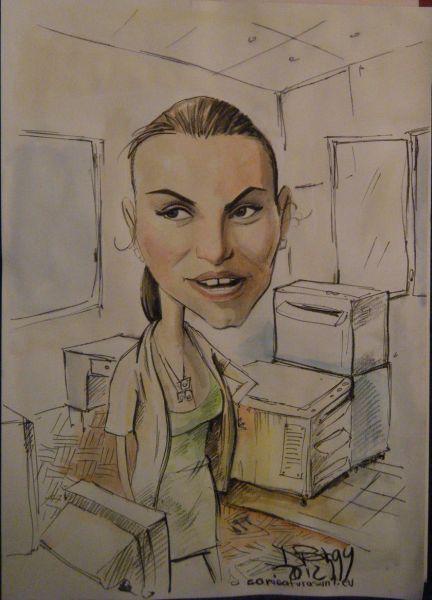 Caricatura - portret la comanda