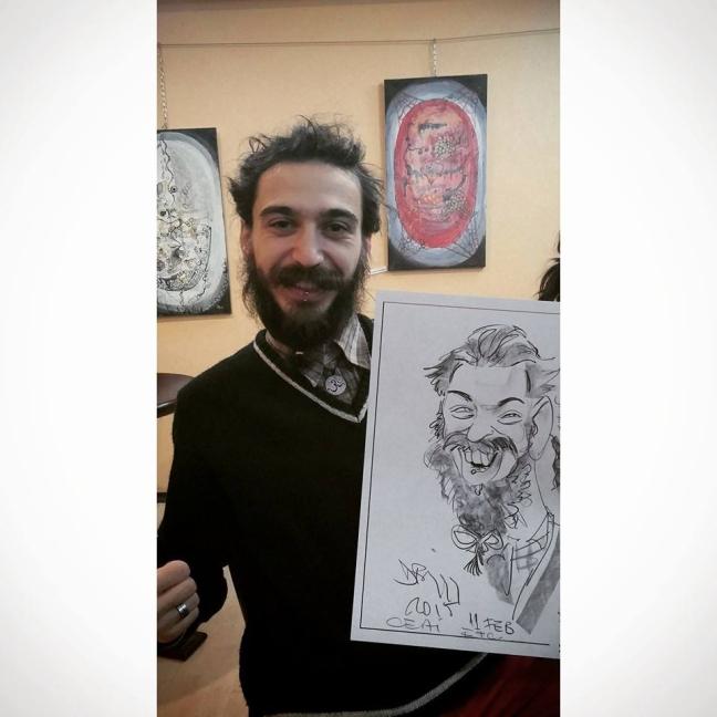 Caricatura Bogdan Budai