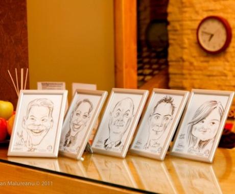 Caricaturilive la  Ioana Hotels, Sinaia