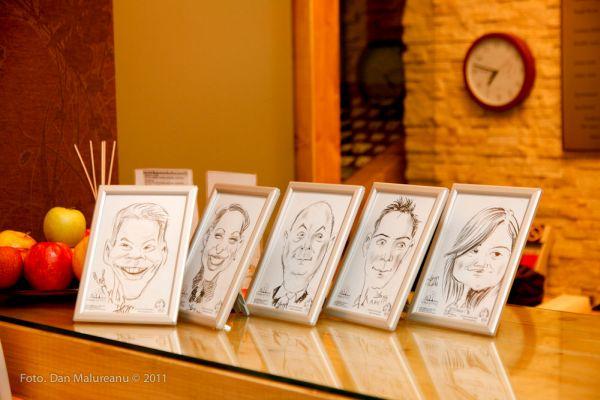 Caricaturi Ioana Hotels, Sinaia by Adrian Bighei
