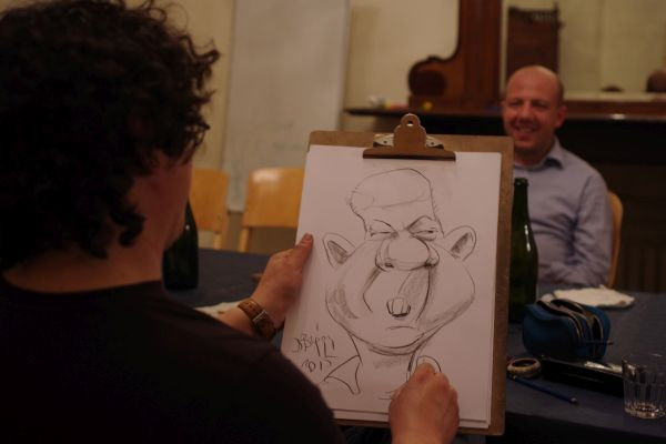 Caricaturi party Italia