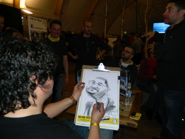 Caricaturi Snow Fest, Franta