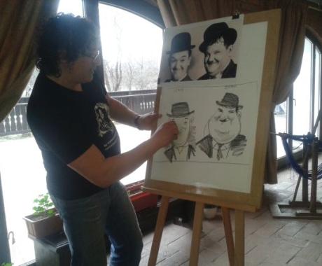 Training  desen si caricaturi pentru copii, Bran