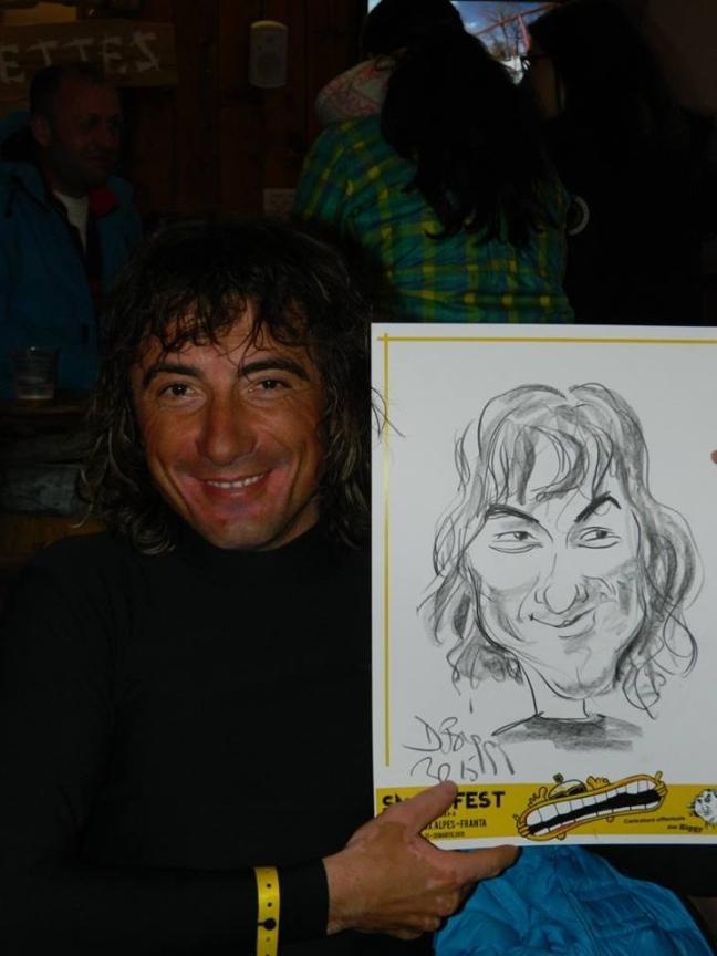 Caricatura Toma Coconea by Adrian Bighei