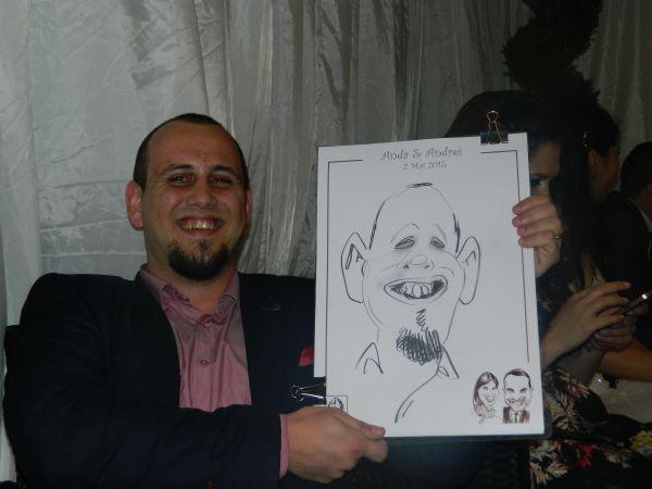 Caricaturi nunta Braila
