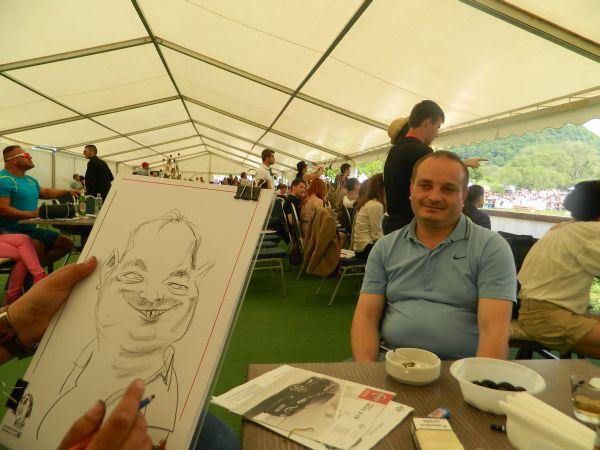 Caricatura Transilvania Horse Show