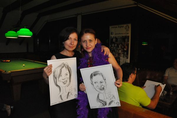 Caricaturi team building Fundata