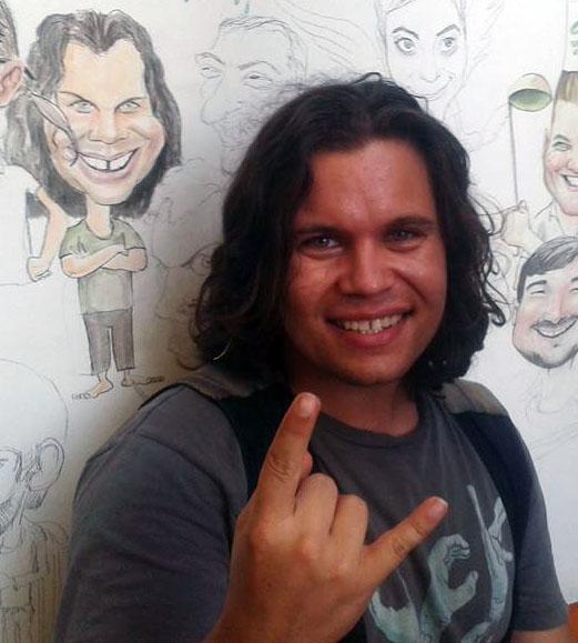 Caricatura Bosquito by Adrian Bighei